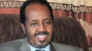 President Hassan Sheikh Mohamud (file image)