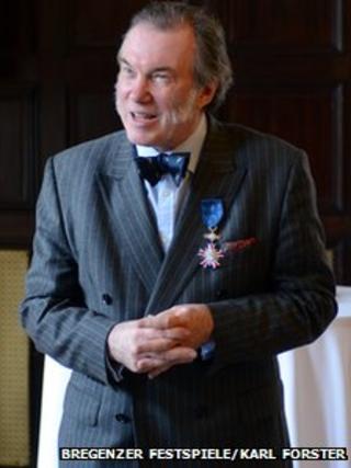 David Pountney at Vienna ceremony