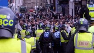 Police in Newcastle