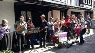 Big Busk in Shrewsbury