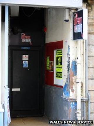 Six Feet Under nightclub in Newport