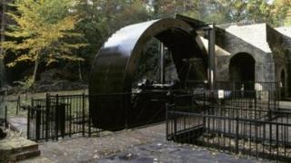 Water wheel National Trust