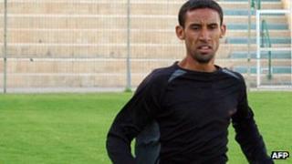 Palestinian Olympian runner Nadar al-Masri
