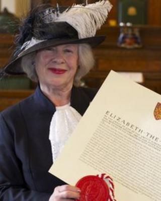 High Sheriff of Lancashire Ann Dean
