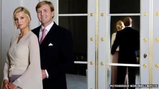 Willem-Alexander and Princess Maxima
