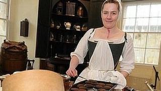 Museum housekeeper