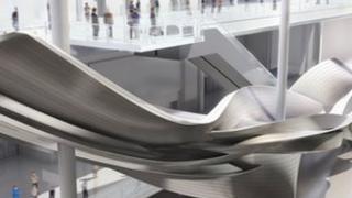 Slipstream sculpture