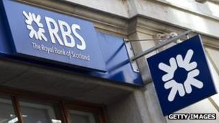 Royal Bank of Scotland branch in London
