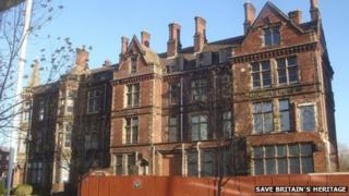 The Edwardian wing of the former Jessop Hospital