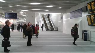 New Street concourse