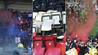 Rangers v Celtic Glasgow Cup Final