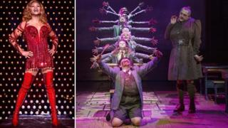 Scenes from Kinky Boots and Matilda the Musical