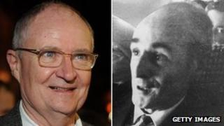 Jim Broadbent and Tommy Butler
