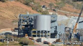 The San Rafael mine in San Rafael Las Flores