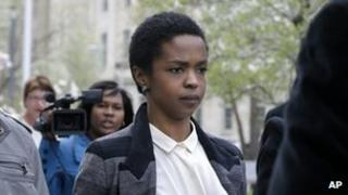 Lauryn Hill leaves the federal court in Newark, New Jersey