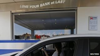 Metro Bank drive-thru Slough