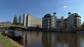 Thames Water HQ in Reading