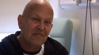 Cancer patient Paul Bates