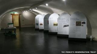 The permanent heritage exhibition