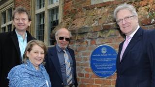 Michael Wood, Dr Naomi Lightman, Prof William McCarthy and Sir Edward Garnier MP