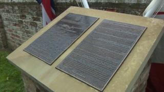 Brafferton memorial