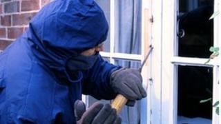 Simulated burglary