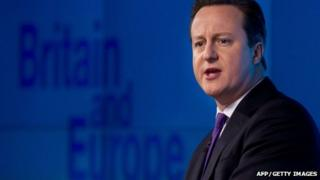Prime Minister David Cameron delivers his long-awaited speech on the UK's relationship with the EU
