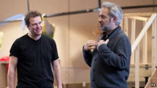 Douglas Hodge (left) and Sam Mendes