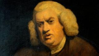 Samuel Johnson by Joshua Reynolds