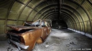 Longbridge Mini in tunnel
