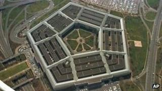 File photo: US Department of Defense building, the Pentagon