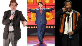Henning Wehn, Michael McIntyre, Reginald D Hunter