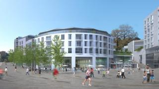 Artist's impression of the plans