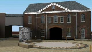 The memorial for Bill Tutte would be built on Rutland Hill, Newmarket