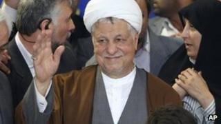 Akbar Hashemi Rafsanjani (11 May 2013)