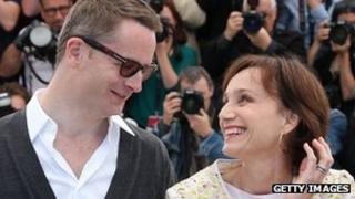 Nicolas Winding Refn and Kristen Scott Thomas