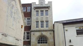 The building that once housed a Silversmiths in Legge Street, Birmingham