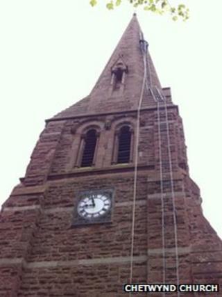 Chetwynd Church