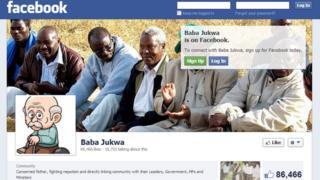 Baba Jukwa Facebook page