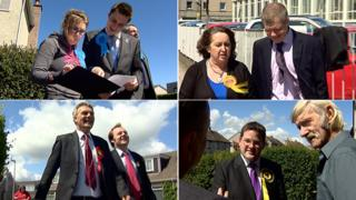 Donside by-election candidates