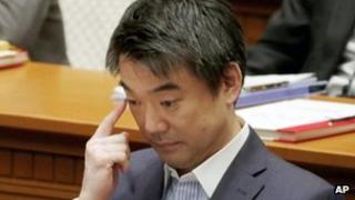 Osaka Mayor Toru Hashimoto (24 May)