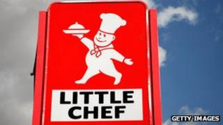 Little Chef sign