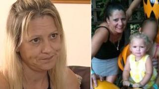 Jeanette Chambers (l) said she is 'very angry' that police knew of problems before Chrissie and Shania were killed