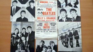 Richie Astall's Beatles memorabilia