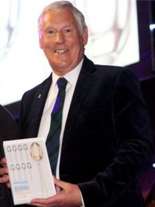 Richard Lochhead (left) and Paul Grant at the Scotland Food and Drink Excellence Awards