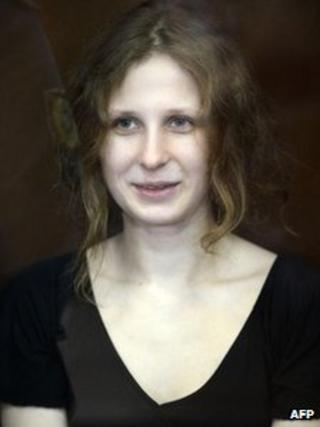 Maria Alyokhina, Aug 2012