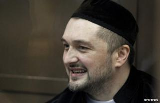 Rustam Makhmudov in court in Moscow, 3 June