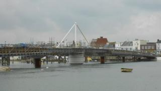 New Shoreham footbridge