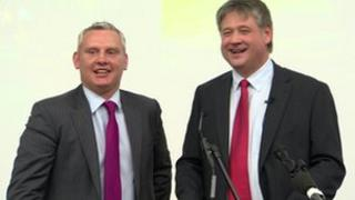 John McCallister and Basil McCrea have launched a new party