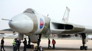 Vulcan Bomber XH558